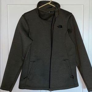 Ladies like new North Face green jacket